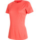 Mammut Trovat Pro Shortsleeve Shirt Women orange